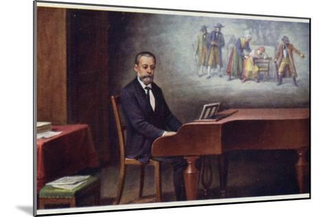 Portrait of Bedrich Smetana--Mounted Giclee Print