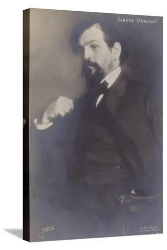 Claude Debussy, French Composer (1862-1918)-Jacques-emile Blanche-Stretched Canvas Print