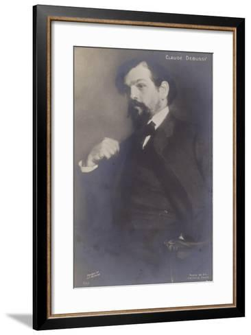 Claude Debussy, French Composer (1862-1918)-Jacques-emile Blanche-Framed Art Print