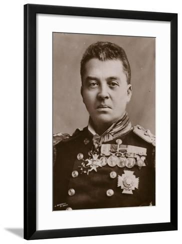 Admiral of the Fleet the Lord Fisher of Kilverstone--Framed Art Print