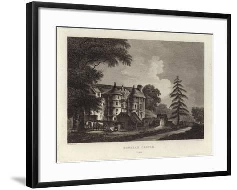 Rowallan Castle-John Claude Nattes-Framed Art Print