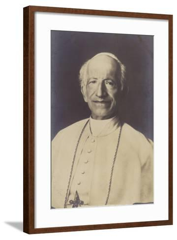 Pope Leo Xiii--Framed Art Print