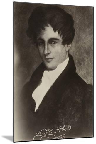 Niels Henrik Abel (1801-1829), Norwegian Mathematician--Mounted Giclee Print