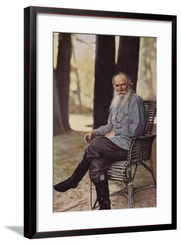 Leo Tolstoy (1828-1910), Russian Novelist, Short Story Writer and Playwright--Framed Art Print