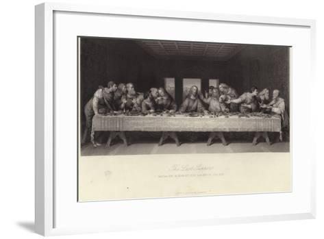 The Last Supper-Leonardo da Vinci-Framed Art Print