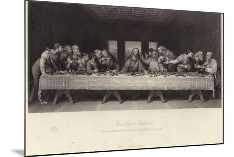 The Last Supper-Leonardo da Vinci-Mounted Giclee Print