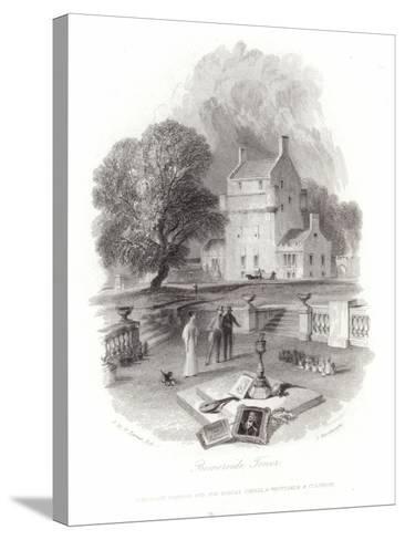 Bemersyde Tower-J^ M^ W^ Turner-Stretched Canvas Print