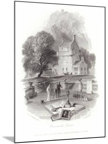 Bemersyde Tower-J^ M^ W^ Turner-Mounted Giclee Print