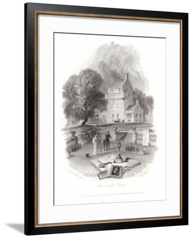 Bemersyde Tower-J^ M^ W^ Turner-Framed Art Print