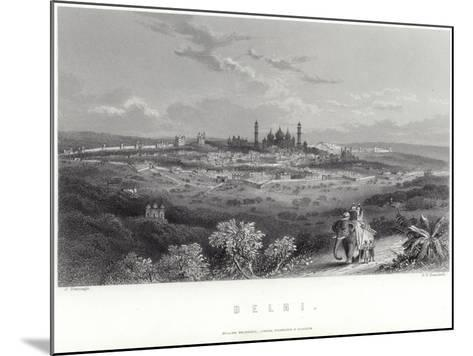 Delhi in India-J Ramage-Mounted Giclee Print