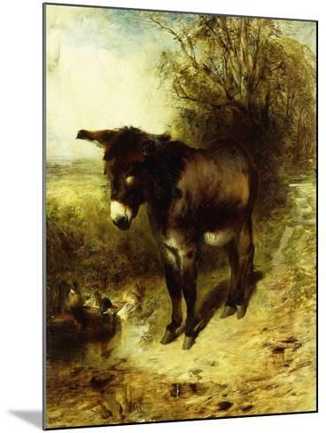 A Brown Study, 1853-William Huggins-Mounted Giclee Print