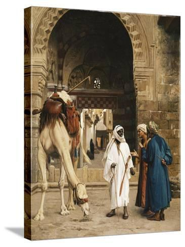A Dispute Among Arabs; Dispute D'Arabes, 1872-Jean Leon Gerome-Stretched Canvas Print