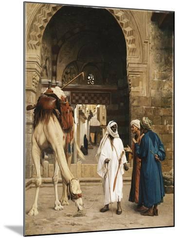 A Dispute Among Arabs; Dispute D'Arabes, 1872-Jean Leon Gerome-Mounted Giclee Print