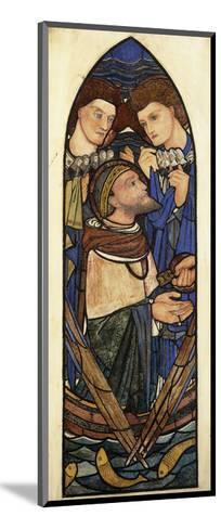 St. Peter Sinking in the Sea of Tiberias-Edward Burne-Jones-Mounted Giclee Print