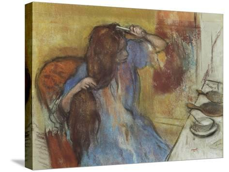 Woman at Her Toilet; Femme a Sa Toilette, C.1889-Edgar Degas-Stretched Canvas Print