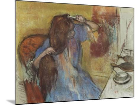 Woman at Her Toilet; Femme a Sa Toilette, C.1889-Edgar Degas-Mounted Giclee Print
