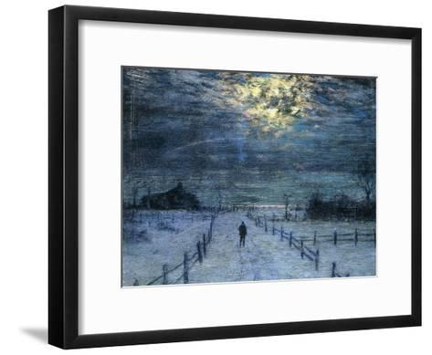 A Wintry Walk-Lowell Birge Harrison-Framed Art Print