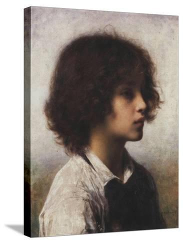 Faraway Thoughts-Alexei Alexevich Harlamoff-Stretched Canvas Print