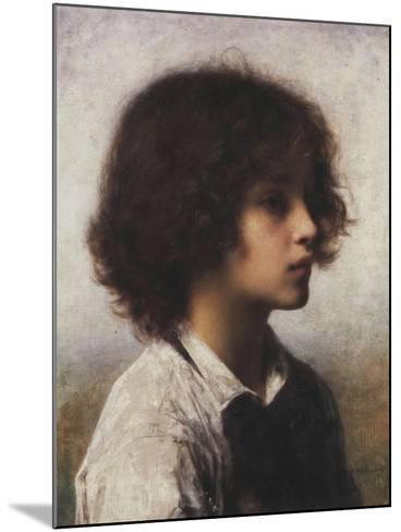 Faraway Thoughts-Alexei Alexevich Harlamoff-Mounted Giclee Print