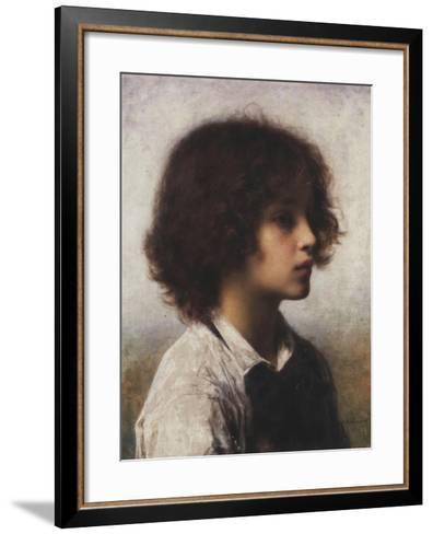Faraway Thoughts-Alexei Alexevich Harlamoff-Framed Art Print