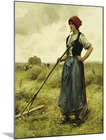 Harvest Time, 1890-Julien Dupre-Mounted Giclee Print
