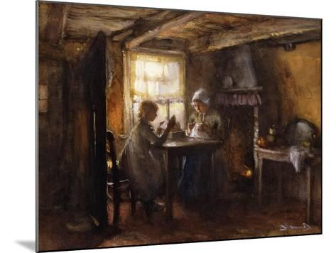 A Quiet Afternoon-Bernardus Johannes Blommers or Bloomers-Mounted Giclee Print