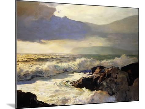Rain Clouds and Sea-Frederick Judd Waugh-Mounted Giclee Print