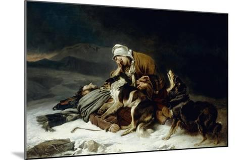 Lost in the Storm-Richard Ansdell-Mounted Giclee Print