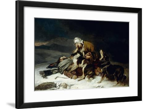 Lost in the Storm-Richard Ansdell-Framed Art Print