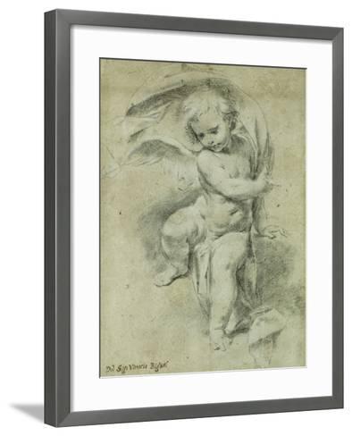An Angel-Vittorio Maria Bigari-Framed Art Print