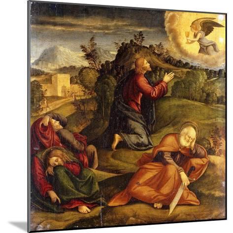 The Agony in the Garden-Girolamo da Santacroce-Mounted Giclee Print