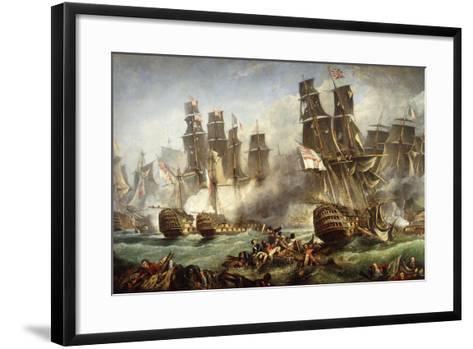 The Battle of Trafalgar--Framed Art Print