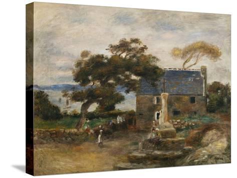 Treboul, Near Douardenez, Brittany; Treboul, Pres De Douardenez, Bretagne, 1895-Pierre-Auguste Renoir-Stretched Canvas Print