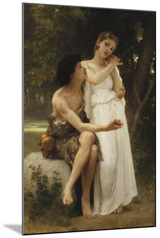 First Jewellery; Premier Bijoux, 1891-William Adolphe Bouguereau-Mounted Giclee Print