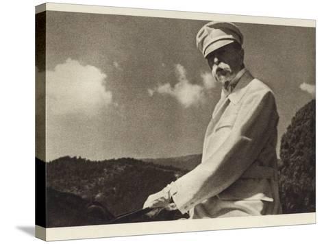 Tomas Garrigue Masaryk--Stretched Canvas Print