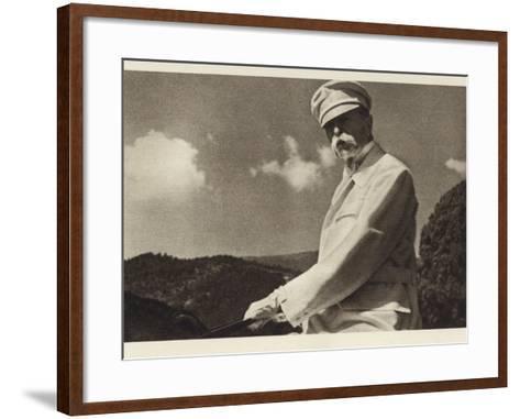 Tomas Garrigue Masaryk--Framed Art Print