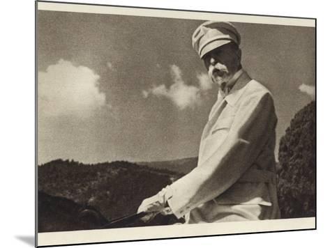 Tomas Garrigue Masaryk--Mounted Photographic Print