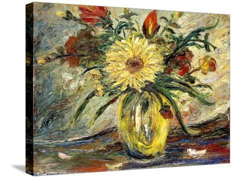Tribute to Vincent Van Gogh; Homenaje a Vincent Van Gogh-Joaquin Clausell-Stretched Canvas Print