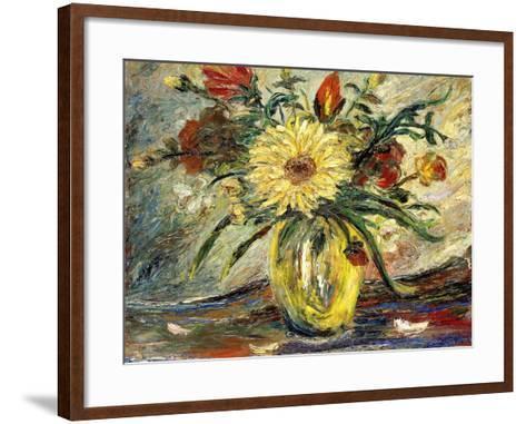 Tribute to Vincent Van Gogh; Homenaje a Vincent Van Gogh-Joaquin Clausell-Framed Art Print