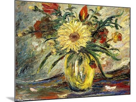 Tribute to Vincent Van Gogh; Homenaje a Vincent Van Gogh-Joaquin Clausell-Mounted Giclee Print