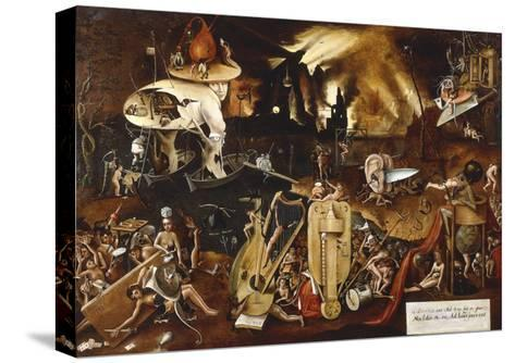 Hell-Hieronymus Bosch-Stretched Canvas Print