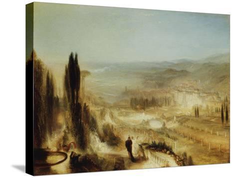Cicero at His Villa, C.1839-J^ M^ W^ Turner-Stretched Canvas Print