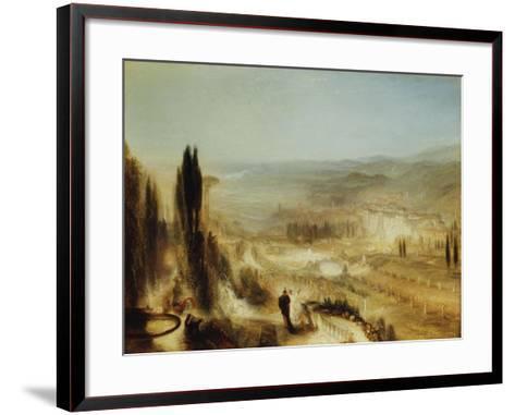 Cicero at His Villa, C.1839-J^ M^ W^ Turner-Framed Art Print