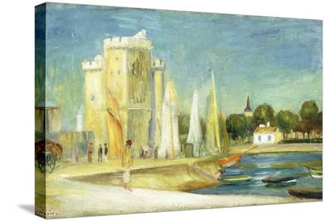 Port De La Rochelle, 1896-Pierre-Auguste Renoir-Stretched Canvas Print