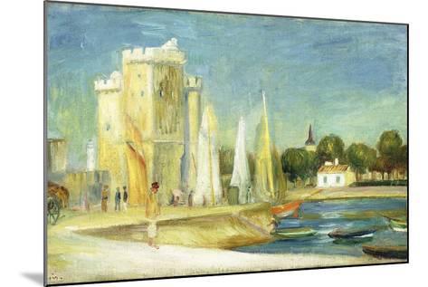 Port De La Rochelle, 1896-Pierre-Auguste Renoir-Mounted Giclee Print