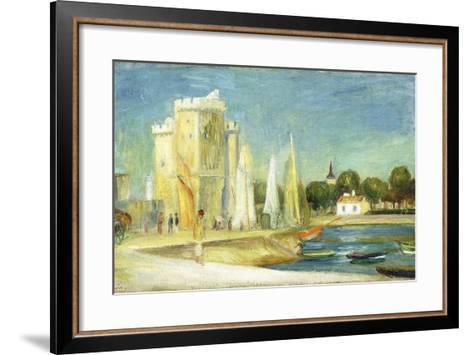 Port De La Rochelle, 1896-Pierre-Auguste Renoir-Framed Art Print