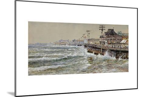 Atlantic City-Edmund Darch Lewis-Mounted Giclee Print
