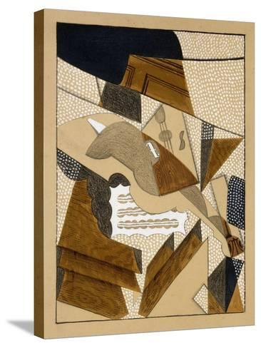Le Violon, C.1915-1916-Juan Gris-Stretched Canvas Print