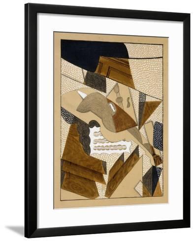 Le Violon, C.1915-1916-Juan Gris-Framed Art Print