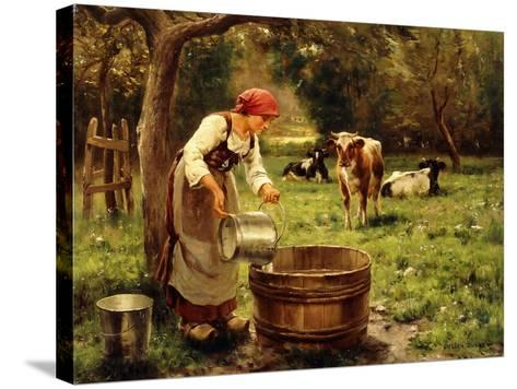 Tending the Cows-Julien Dupre-Stretched Canvas Print